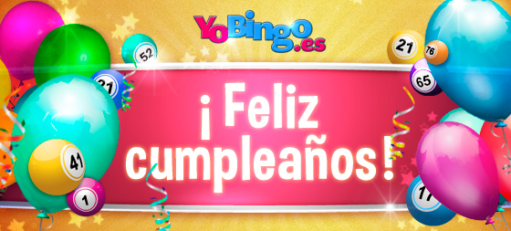 Promocion bono cumpleaños YoBingo
